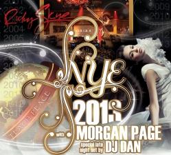 RUBY SKYE NYE 2013 with MORGAN PAGE and DJ DAN