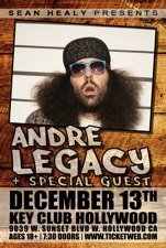Andre Legacy and Special Guests