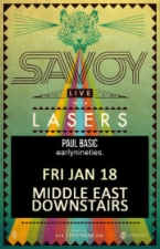 Savoy , Early Nineties, Paul Basic