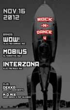 ROCK-N-DANCE 4 featuring WOW!, MOBIUS, INTERZONA, DEKKA, M.D.MIX