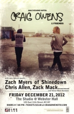 Craig Owens plus Zach Myers (of Shinedown) / Voted Most Random