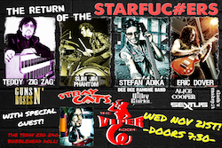 The Viper Room Presents: The Starfu*kers with Love and a .38 and Rockett Queens