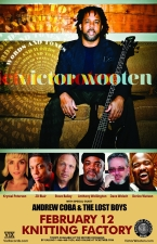 Victor Wooten featuring ANDREW COBA & THE LOST BOYS