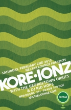 KORE IONZ with The Georgetown Orbits and Kid Hops (KEXP 90.3fm Positive Vibrations)