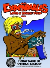 The Expendables Life's a Beach Tour featuring Pacific Dub