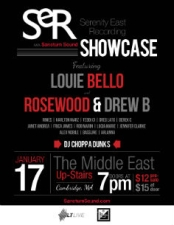 Sanctum Sound Showcase featuring Louie Bello , Rosewood & Drew B , Karlton Marz & more.