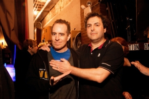 Tom Scharpling and Ted Leo Present a Very Special Hurricane Benefit Show featuring Tom Scharpling , Ted Leo &amp; the Pharmacists , Chris Elliott , John Hodgman , Jon Benjamin , Julie Klausner , Andrew W.K. and Surprise Guests!