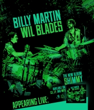 Billy Martin and Wil Blades Duo with Spontaneous Underground