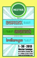 EARPHUNK / GROOVESESSION / BROTHERS GOW