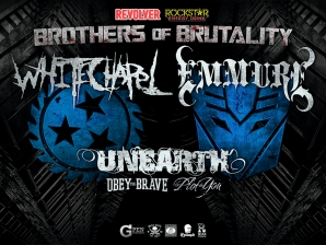 Whitechapel & Emmure with Unearth / Obey The Brave / The Plot In You
