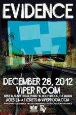 The Viper Room Presents: Evidence with Bambu and DJ Rhettmatic