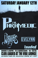 The Paramedic featuring In Other Words / Evelynn / Champ / Pandemic / Elision