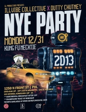 gl Productions Presents: Illvibe Collective x Dutty Chutney NYE Party