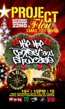 Project Flow, Hip Hop Contest & Showcase / X-Mas Toy Drive