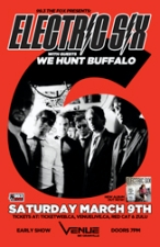 Electric Six + guests We Hunt Buffalo