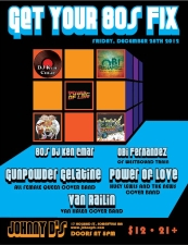The Power Of Love plus Van Railin & Gunpowder Gelatine / Obi Fernandez & DJ Ken Cmar