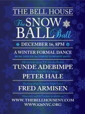 The Snow Ball Ball: A Winter Formal to Benefit 826NYC Hosted By Fred Armisen with Guest DJs Tunde Adebimpe (from TV On the Radio), Peter Hale (from Here We Go Magic) and more!
