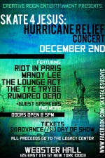 Riot In Paris plus Mandy Lee / The Lounge Act / The Tye Trybe / Rumored Dead