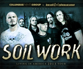 Soilwork featuring Jeff Loomis / Blackguard / Bonded By Blood / Hatchet