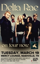 Delta Rae with Lera Lynn and Jillette Johnson