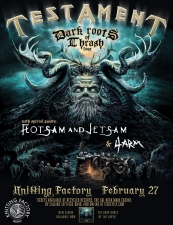 Testament featuring Flotsam & Jetsam / 4arm