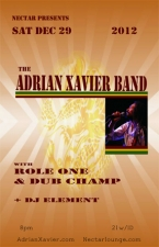 ADRIAN XAVIER BAND featuring Role One / DUBCHAMP / DJ Element