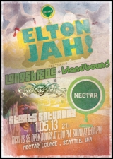 ELTON JAH with SKABLINS / Longstride / Island Bound