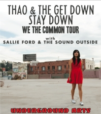 XPN Welcomes: Thao & the Get Down Stay Down with Sallie Ford & The Sound Outside
