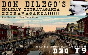 DON DILEGOS HOLIDAY EXTRAVAGANZA EXTRAVAGANZA! featuring Beautiful Small Machines & Anthony D'amato