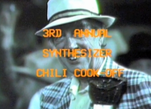 The 3rd Annual 'Synthesizer Chili Cookoff' featuring Rolan Vega / Laura Callier / John Brearly / Eric Hanss