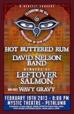 Hot Buttered Rum-David Nelson Band-Members of Leftover Salmon Host Wavy Gravy - A Benefit Concert for Seva Foundation