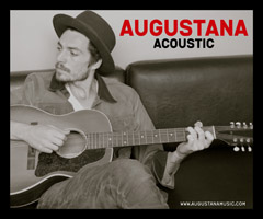 Augustana (acoustic) plus Lauren Shera