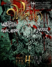 Wilderun with Black Mass , Wrathsputin , Deadfall, Aversed