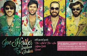 Joe Hertler & The Rainbow Seekers + The Soil & The Sun + Antrim Dells + Bennett