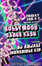 BOLLYWOOD DANCE BASH featuring DJ Anjali and the Incredible Kid with Special Guests