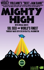MIGHTY HIGH featuring Sol Seed / World's Finest