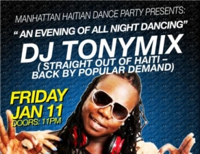 DJ TONYMIXX featuring BACK BY POPULAR DEMAND!!!