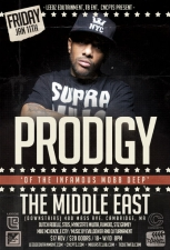 Prodigy (Mobb Deep) with Dutch ReBelle , Steis , and more