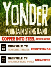 Yonder Mountain String Band After Party featuring Copper Into Steel