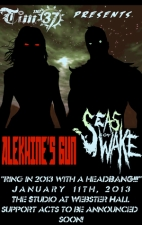 Alekhine's Gun &amp; Seas Of Wake plus Leech / Thanatotic Desire / Valor