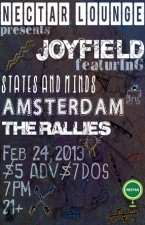 JOYFIELD / States and Minds / Amsterdam / The Rallies
