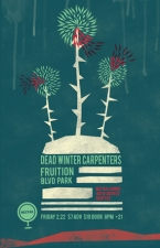 DEAD WINTER CARPENTERS with Fruition and BLVD Park