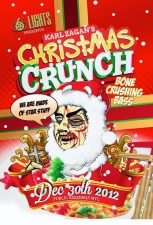 Christmas Crunch featuring DJ Captain Crunch / Synchronice / Druley / Doctor Voodoo / Droid Beats / Inna K / Dubstep Tom