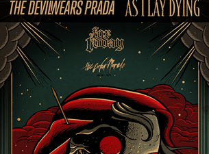 Devil Wears Prada / As I Lay Dying with For Today , The Chariot