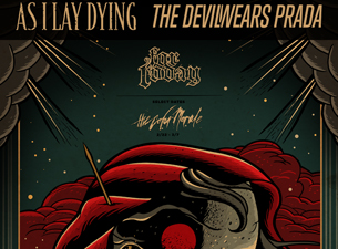 As I Lay Dying / Devil Wears Prada - 2 SHOW PASS