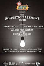 Geoff Rickly (Thursday) / Vinnie Caruana (I Am The Avalanche) / A Loss For Words / Koji / Brian Marquis