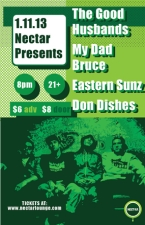 THE GOOD HUSBANDS and DJ Indica Jones with My Dad Bruce, Eastern Sunz and Don Dishes