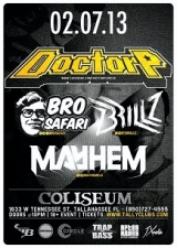 Doctor P - Bro Safari - Brillz - Mayhem - Team Jaguar