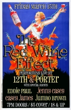LOUNGE:, Red Wine Effect with Eddie Paul, Jenny Casey, Casey James, and Jumbo Brown