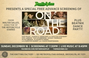 On The Road (Screening) plus Stan Killian Trio